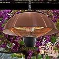 Firefly 1500 Watt Infrarot Heizstrahler, Terrassenheizung, Halogen-Heizstrahler, Deckenmontage, Kupferfarben von Primrose bei Heizstrahler Onlineshop