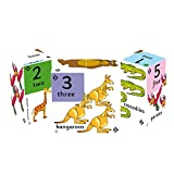 ZooBooKoo Educational Learn To Count Number Cube - Find The Odd One Out