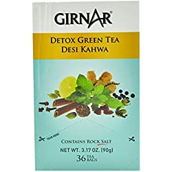 Girnar Detox Green Tea - 36 Bags