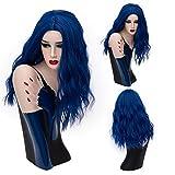 SHKH Femmes Belle Longueur moyenne Cheveux bouclés ondulés Perruques Cosplay Halloween Fêtes de noël Fancy Dress Multi-couleurs facultatif , 09