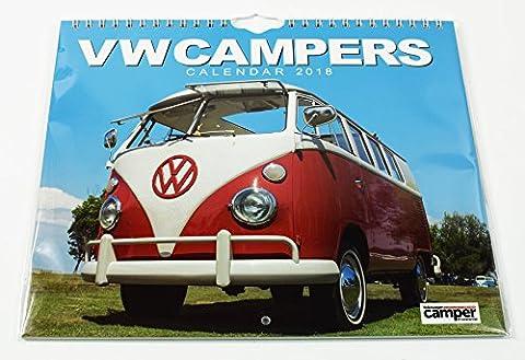 Camper Vans VW Kalender 2018Geschenk Wand aufhängen Accessoire Planer Landschaft Home (Familie Van)