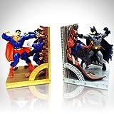 RARE-T Superman VS Batman Édition Limitée Serre-Livre