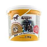 Speed No. 1 - optimiertes Kombiprodukt für die Zucht, Wachstum, Sport, Regeneration, Stoffwechsel und Fellwechsel (2,5 Kg)