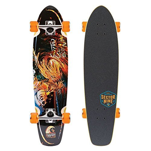 sector-9-liquid-metal-fot-foam-traction-top-complete-skateboard-assorted-by-sector-9