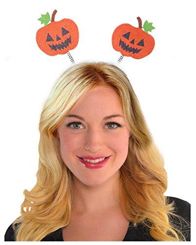 Halloween Kürbis Haarreif als Kopfschmuck