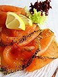 Marquart Feinkost - Premium Graved Lachs, geschnitten - 200 g -