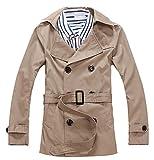 Scothen Abrigo de lana de invierno Slim Fit de las mujeres Chaqueta de negocios Slim Long Chaquetas de rompevientos Trenchcoat Jacket