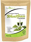 Polvo de Pasto Agropiro orgánico (200 gramos) | MySuperFoods | Orgánico Certificado | Fuente de Vitamina E, Calcio, Hierro, Zinc, Fibra | Potente Antioxidante | Polvo de grado más alto disponible