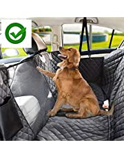 KOZI PET Water Proof Technology Tafta Fabric Black Color Car Seat Cover for Dog/Cat (for Sedan and SUV Cars) Black