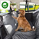 KOZI PET Water Proof Technology Tafta Black Fabric Car Seat Cover for Dog/Cat for Hatchback Cars (Black)