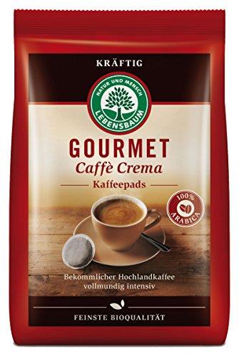Lebensbaum Bio Gourmet Caffè Crema,  Pads, 126 g
