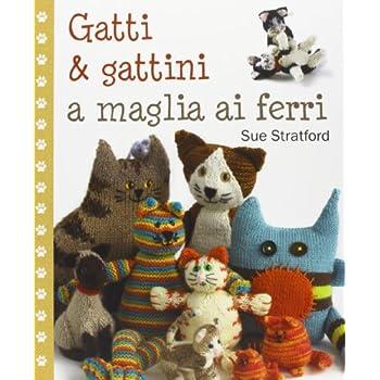 Gatti & Gattini A Maglia Ai Ferri