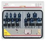 Bosch Pro 13tlg. Flachfräsbohrer-Set Self Cut Speed mit 1/4