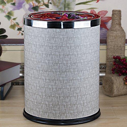 Chinesische müll-dosen/haushalt flip bin/ wohnzimmer schlafzimmer papierkorb/ deckt die küche papierkorb/simple trash dosen-A