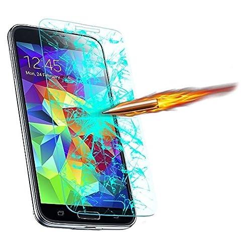 itronik® 9H Hartglas / Panzerglas für Samsung Galaxy Young 2 G130 / Displayschutzglas / Tempered / Panzer Glas Display Schutz Folie / Schutzglas / Echte Glas / Verbundenglas / Glasfolie