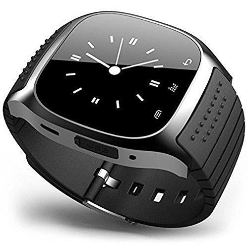 Efanr 2015 OLED Bluetooth Smart Watch Bracelet Exercise Smartwatch Running Wristbands Sports Watches Luxury Fitness Health Tracking System Wrist Watch Women Men Cell Phone Mate Partner Pedometer Step Walking Distance Calorie Counter Activity Tracke