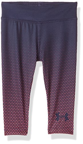 Under Armour Baby Girls Core Active Capri Legging, Midnight Navy, 12M (Armour Baby-mädchen Under)