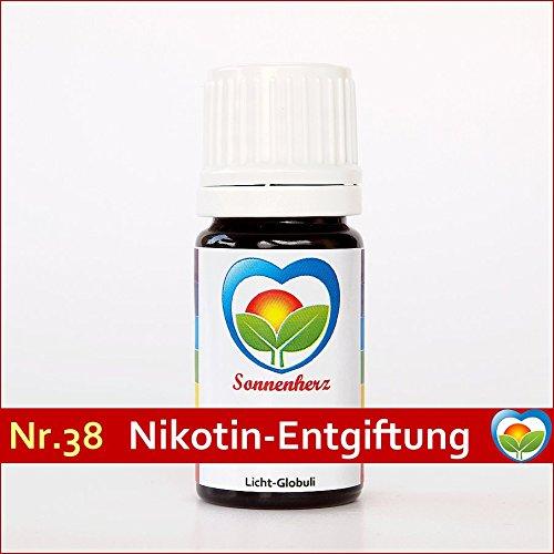 Energetische & informierte Sonnenglobuli Nr. 38 Nikotin Entwöhnung von Sonnenherz. Informierte Globuli, Lichtglobuli