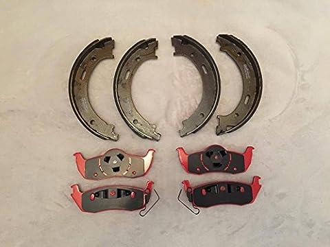 Lpb nty Céramique plaquettes de frein et frein Parking Chaussures Jeep Grand Cherokee modèles 05?10/Commander 06?10