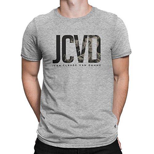 Jean Claude Van Damme Initials JCVD 2017 Homme T-shirt L