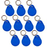 10 NFC Tag Schlüsselanhänger NTAG215 | 504 Byte | blau
