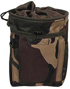 TACTICAL MOLLE DUMP BAG - BULLET POUCH - AMMO POUCH - DPM CAMO - AIRSOFT