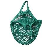 c-pioneer Red de algodón bolsa de la compra reutilizable bolsas de ecología producir bolsa