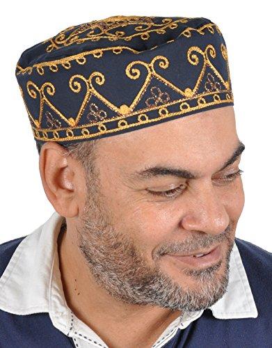 nelle Arabische Kopfbedeckung - Araber - Karnevalskostüm/Farbe: Nachtblau ()