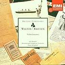 Walton / Britten: Violin Concertos