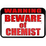 """graphique et plus """"avertissement Attention au Chimiste"""" 22.9x 15.2cm plaque en métal Tableau"""