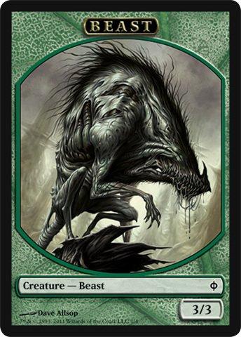 magic-the-gathering-beast-token-new-phyrexia-new-phyrexia