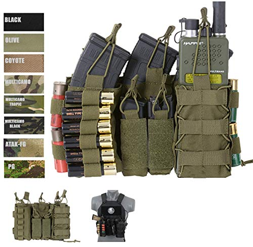 8FIELDS Molle Multi Mission Attack Mag Pouch Panel Tasche Diverse Magazine Airsoft
