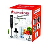 Wonderchef Eleganza 63152253 550-Watt 2-in-1 Hand Blender (Black/Silver)
