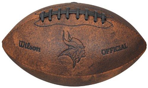 Gulf Coast Sales NFL Vintage Throwback Fußball, 22,9 cm, Spielzeuge und Schuhe, Minnesota Vikings, 9