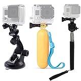 dovob-in 4K 1080p Action Kamera Zubehör Kit für GoPro/Lightdow LD4000LD6000/DBPOWER/Apeman/Akaso ek7000
