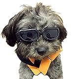 Kailian - Occhiali da sole e protettivi per cani di piccoli taglia, anti UV, impermeabili