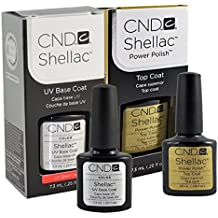 CND Shellac Smalti Semipermanente Top/Base Duo - 7 ml
