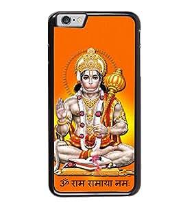 Fuson Designer Back Case Cover for Apple iPhone 6 Plus :: Apple iPhone 6+ (Anjani Sut pavanputra Gadadhari Hanuman)