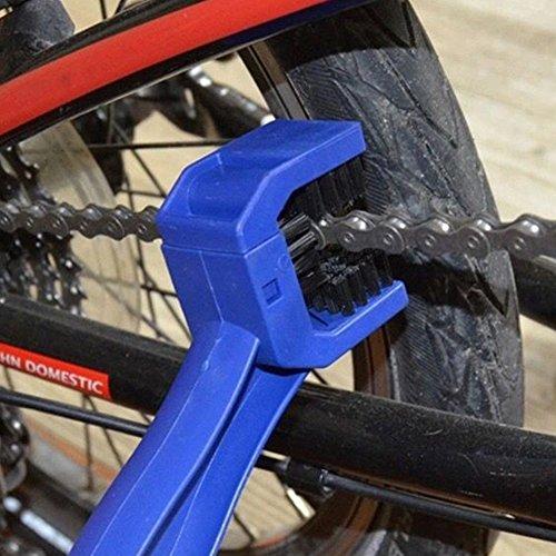 ulofpc Motorrad Fahrrad Radfahren Kette Reinigungsbürste Mountainbike Reinigungswerkzeug