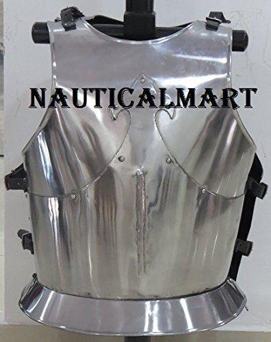 NAUTICAL MART Design Leder Mittelalter Ritter Rüstung Vorderzeug