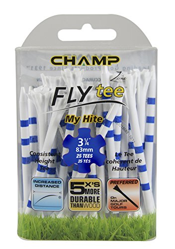 CHAMP My Hite Fly Tees (83mm) Golf Accessories Tees (Tee-länge Band)