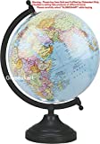 Globeskart Educational Globe, Sky Blue