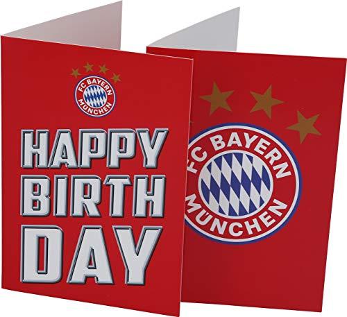 FC Bayern München Karten-Set Happy Birthday/Logo