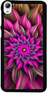 PrintVisa Pattern Abstract Flower Back Cover for HTC Desire 826 (2D-HTCD826-D7944)