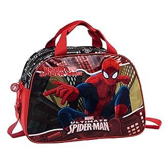 Spiderman Bolsa de Viaje, 24.64 Litros, Color Rojo
