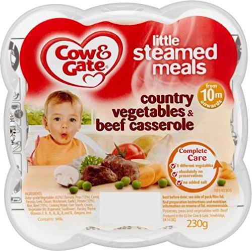 Cow & Gate Poco Vapore Pasti Paese Verdure E Carne