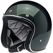 Casco Jet Biltwell Bonanza Helmet Sierra Green Verde oscuro L Sierra Green