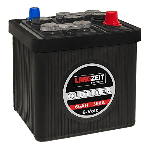 langzeit oldtimer batterie 6v 66ah autobatterie. Black Bedroom Furniture Sets. Home Design Ideas