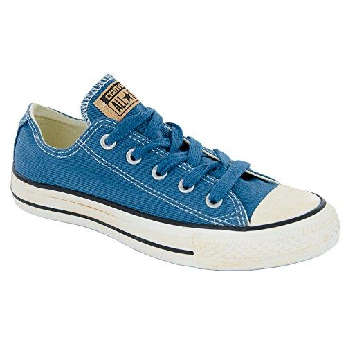 Blue Vintage Twill Herren Stiefel Ox Taylor Chuck Converse Washed Homme All Star Kurzschaft Aero pOfxwqX