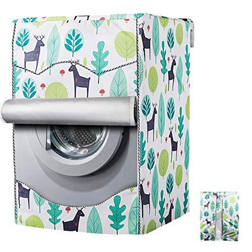 Machine à Laver Couvrir Housse de lave-linge étanche pour pare protège bien mon sèche linge(60x64x85cm)